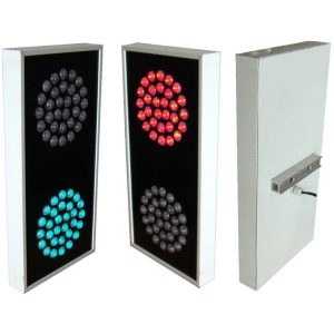 Electrical traffic Signal 2 color aluminum casing 750 2