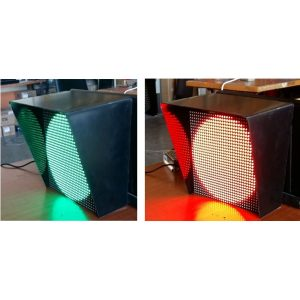 Electrical traffic Signal multicolor 1400