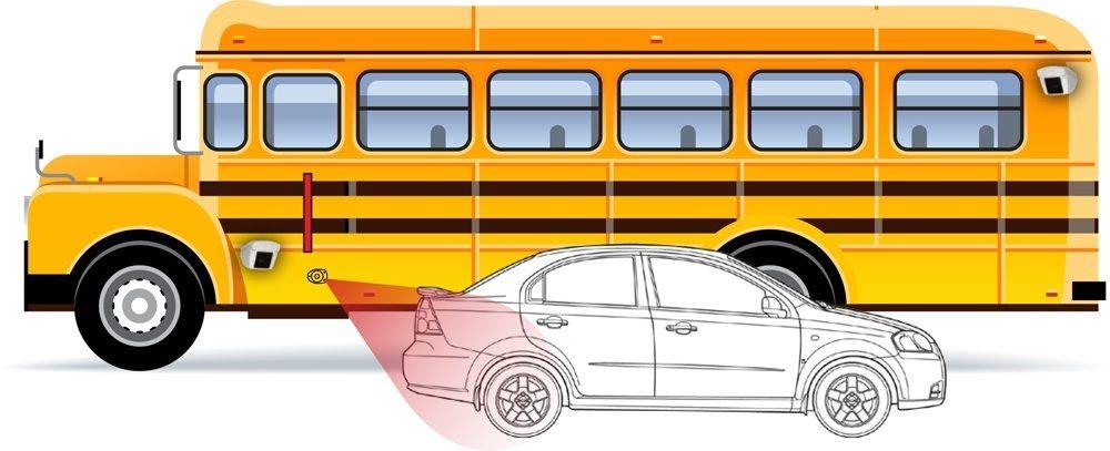 bus stop arm violation radar